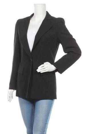 Дамско сако Madeleine, Размер S, Цвят Черен, 53% полиестер, 43% вълна, 4% еластан, Цена 19,08лв.