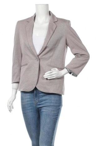 Дамско сако Nicole Miller, Размер S, Цвят Сив, 57% памук, 37% полиестер, 6% еластан, Цена 58,38лв.