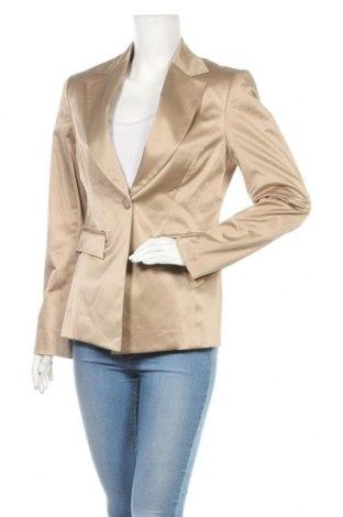 Дамско сако Nicowa, Размер M, Цвят Бежов, 52% полиестер, 45% памук, 3% еластан, Цена 7,14лв.