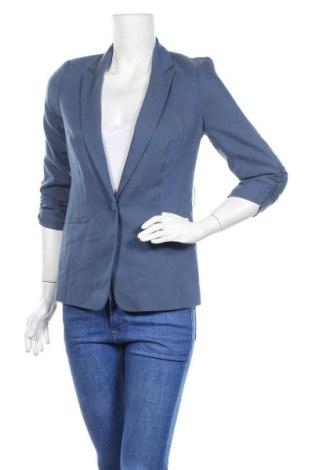 Дамско сако Orsay, Размер S, Цвят Син, 64% лиосел, 33% полиестер, 3% еластан, Цена 11,76лв.