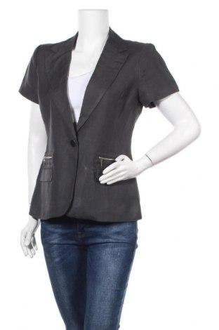 Дамско сако Premise, Размер S, Цвят Сив, 55% лен, 45% вискоза, Цена 19,64лв.