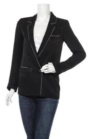 Дамско сако Zara, Размер S, Цвят Черен, Цена 22,52лв.