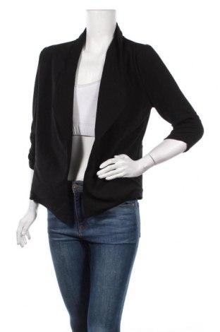 Дамско сако Zenana Outfitters, Размер L, Цвят Черен, 95% полиестер, 5% еластан, Цена 8,82лв.