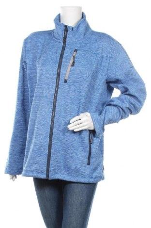 Дамско спортно горнище Moorhead, Размер XL, Цвят Син, 100% полиестер, Цена 15,12лв.