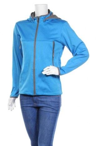 Дамско спортно яке, Размер M, Цвят Син, Полиестер, Цена 29,40лв.