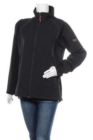 Дамско спортно яке, Размер XL, Цвят Черен, 56% полиамид, 33% полиестер, 10% еластан, 1% вискоза, Цена 19,95лв.