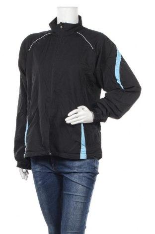 Дамско спортно яке Crane, Размер L, Цвят Черен, Полиестер, Цена 10,24лв.