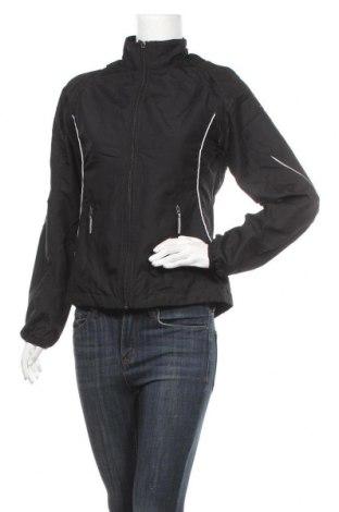 Дамско спортно яке Crane, Размер M, Цвят Черен, Полиестер, Цена 9,45лв.