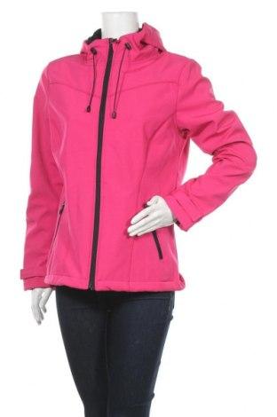 Дамско спортно яке Janina, Размер M, Цвят Розов, 95% полиестер, 5% еластан, Цена 46,20лв.