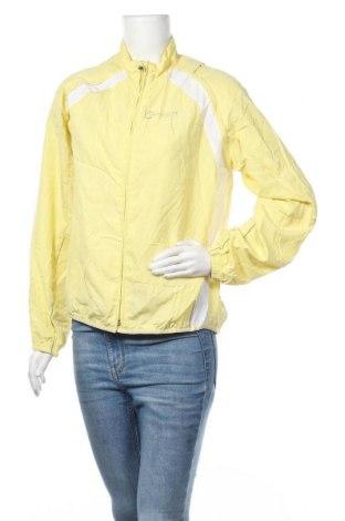 Дамско спортно яке Movement, Размер L, Цвят Жълт, 100% полиестер, Цена 8,46лв.