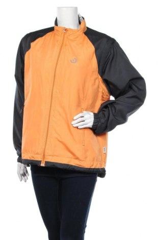 Дамско спортно яке Shamp, Размер L, Цвят Оранжев, Полиестер, Цена 12,92лв.