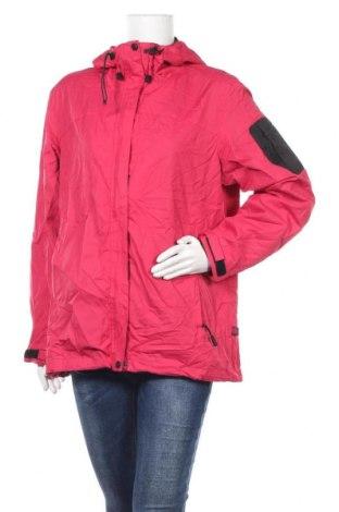 Дамско спортно яке Shamp, Размер M, Цвят Розов, Полиестер, Цена 9,28лв.