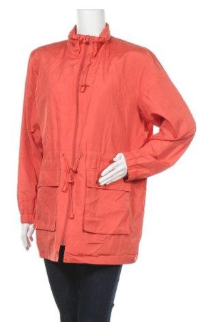Дамско яке, Размер XL, Цвят Оранжев, Полиестер, Цена 11,03лв.