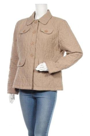 Дамско яке, Размер XL, Цвят Бежов, Полиестер, Цена 10,74лв.