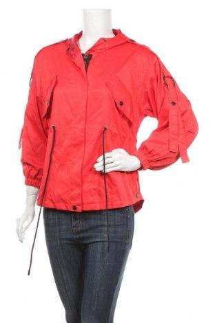 Дамско яке, Размер S, Цвят Червен, 65% полиестер, 35% памук, Цена 11,72лв.