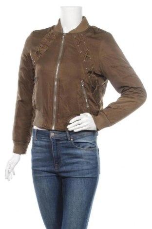 Дамско яке, Размер S, Цвят Зелен, 65% памук, 35% полиестер, Цена 14,97лв.