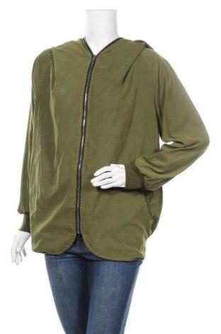 Дамско яке, Размер S, Цвят Зелен, Полиестер, Цена 12,10лв.