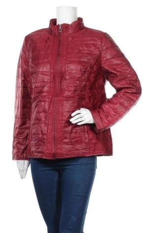 Дамско яке, Размер L, Цвят Червен, Полиестер, Цена 18,90лв.