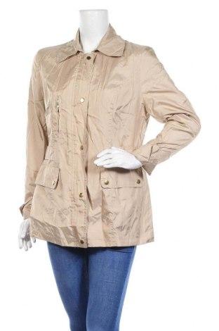 Дамско яке, Размер M, Цвят Бежов, 85% полиестер, 15% полиамид, Цена 11,03лв.