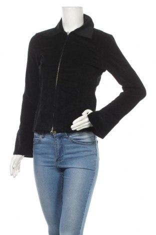 Дамско яке Amisu, Размер S, Цвят Черен, 97% памук, 3% еластан, Цена 11,03лв.