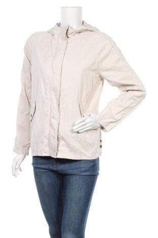 Дамско яке C&A, Размер M, Цвят Бежов, 56% полиестер, 32% памук, 12% полиамид, Цена 10,58лв.
