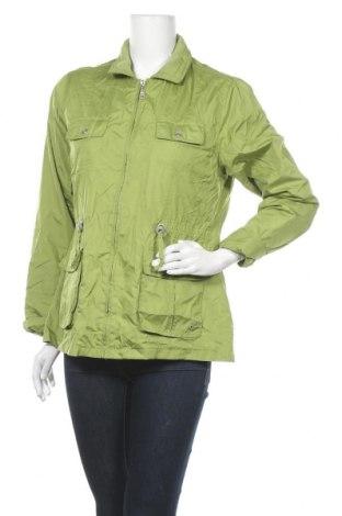Дамско яке Canda, Размер M, Цвят Зелен, Полиестер, Цена 8,55лв.