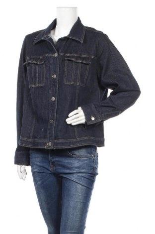 Дамско яке Ellen Tracy, Размер XL, Цвят Син, 99% памук, 1% еластан, Цена 14,70лв.