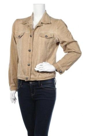 Дамско яке Enjoy, Размер M, Цвят Бежов, 95% памук, 5% еластан, Цена 8,66лв.