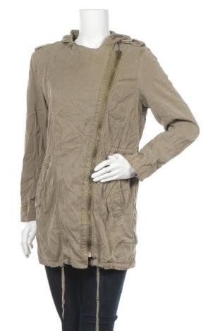 Дамско яке Esprit, Размер S, Цвят Зелен, 65% лиосел, 35% памук, Цена 16,42лв.