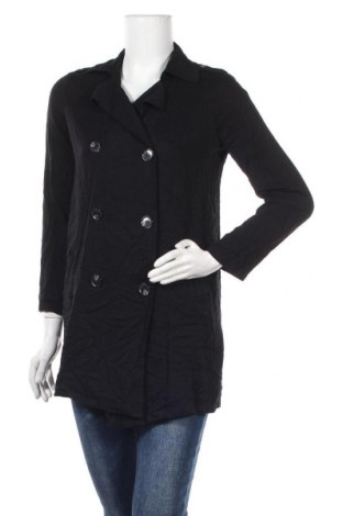 Дамски шлифер Forever 21, Размер S, Цвят Черен, Вискоза, Цена 10,96лв.