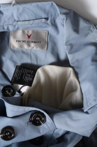Дамско яке Fuchs & Schmitt, Размер M, Цвят Син, 63% памук, 37% полиамид, Цена 43,35лв.