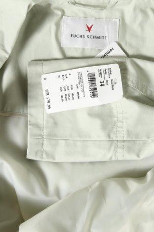 Дамско яке Fuchs & Schmitt, Размер XS, Цвят Зелен, 63% памук, 37% полиамид, Цена 38,28лв.