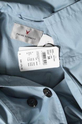 Дамско яке Fuchs & Schmitt, Размер M, Цвят Син, 63% памук, 37% полиамид, Цена 38,28лв.