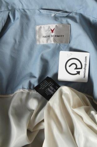 Дамско яке Fuchs & Schmitt, Размер S, Цвят Син, 63% памук, 37% полиамид, Цена 34,68лв.