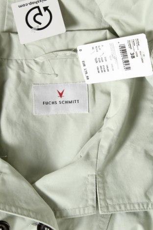 Дамско яке Fuchs & Schmitt, Размер M, Цвят Зелен, 63% памук, 37% полиамид, Цена 38,28лв.