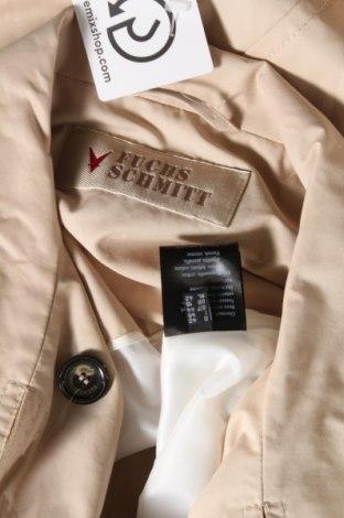 Дамско яке Fuchs & Schmitt, Размер L, Цвят Бежов, 63% памук, 37% полиамид, Цена 216,75лв.