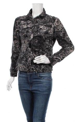 Γυναικείο μπουφάν Gitti, Μέγεθος M, Χρώμα Γκρί, 96% βαμβάκι, 4% ελαστάνη, Τιμή 8,18€