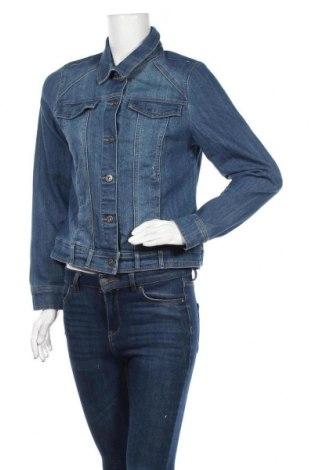Дамско яке Gloria Vanderbilt, Размер S, Цвят Син, 72% памук, 27% полиестер, 1% еластан, Цена 19,37лв.