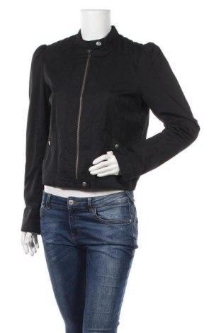 Дамско яке H&M, Размер L, Цвят Черен, 52% полиамид, 48% памук, Цена 11,03лв.