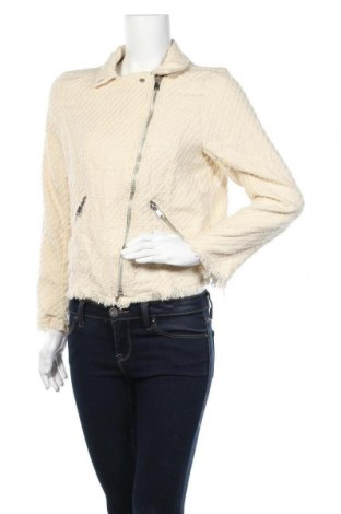 Дамско яке H&M, Размер L, Цвят Екрю, 45% акрил, 38% памук, 17% полиестер, Цена 8,93лв.