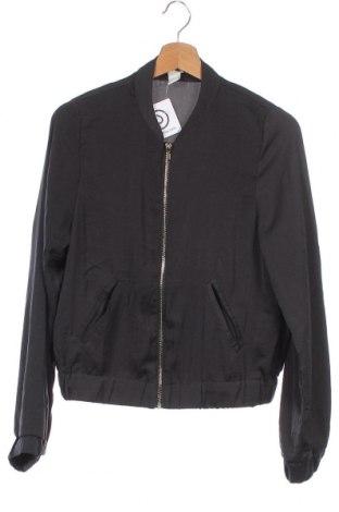 Дамско яке H&M, Размер XS, Цвят Черен, Полиестер, Цена 7,28лв.
