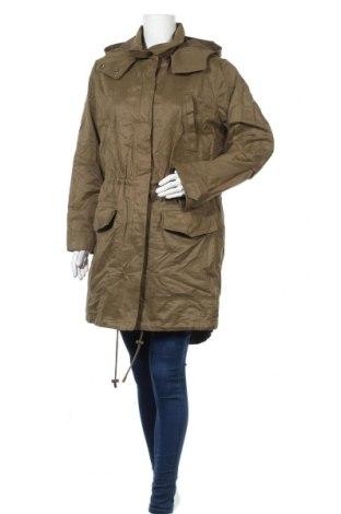Дамско яке H&M L.O.G.G., Размер XL, Цвят Зелен, 62% памук, 30% полиестер, 8% полиамид, Цена 22,68лв.