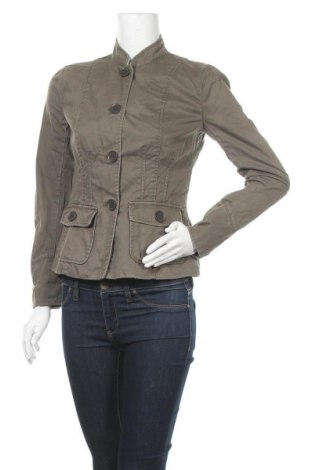 Γυναικείο μπουφάν Jacob, Μέγεθος S, Χρώμα Πράσινο, Βαμβάκι, Τιμή 7,50€
