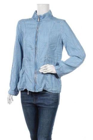 Дамско яке Jeanswest, Размер M, Цвят Син, Тенсел, Цена 8,66лв.