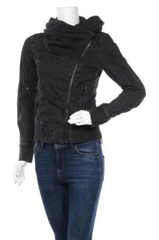 Дамско яке Khujo, Размер S, Цвят Черен, 74% памук, 26% полиамид, Цена 49,14лв.