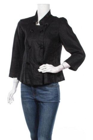 Дамско сако Marc Aurel, Размер S, Цвят Черен, Лен, Цена 13,65лв.