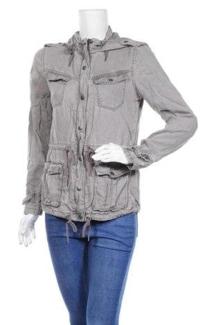 Дамско яке Max Jeans, Размер S, Цвят Сив, Тенсел, Цена 12,92лв.
