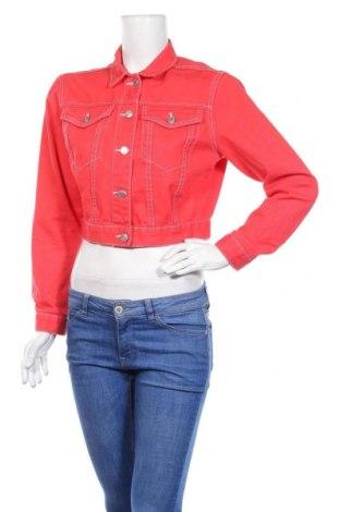 Дамско яке New Look, Размер M, Цвят Червен, Памук, Цена 35,70лв.