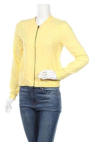 Дамско яке Pimkie, Размер S, Цвят Жълт, Полиестер, Цена 10,76лв.