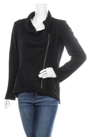 Дамско яке Promod, Размер M, Цвят Черен, 60% полиестер, 40% вълна, Цена 13,39лв.
